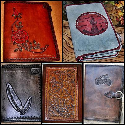 Workshop leather cover