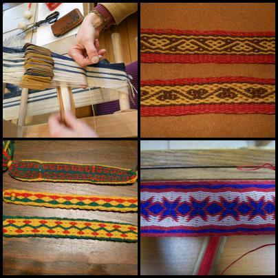 Workshop tablet weaving