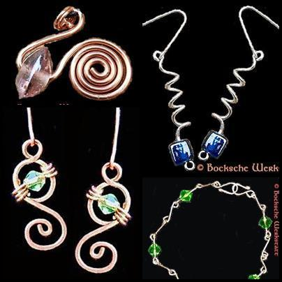 Wire Jewelry -  wirework Basic Course